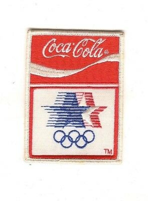 Coca Cola Olympics Patch 3in x 4in
