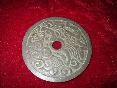 Rare Beautiful COLLECTION China Ancient Copper Carved COIN