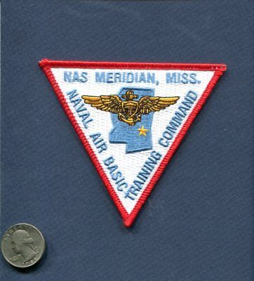 NAS NAVAL AIR STATION MERIDIAN MS US Navy Base Squadron Jacket Patch