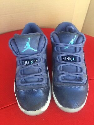 ... sale nike air jordan 11 xi retro low gp blue moon white size 11c kids  0f498 3474837c9