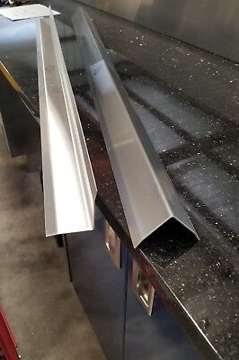 "Stainless Steel Corner Guard 2"" x 2"" x 48"" Restaurant Kitchen Supply Angle 16ga"