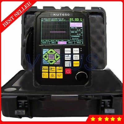 Ultrasonic Flaw Detector Portable Defectoscope Flaw Detectiontesting Equipment