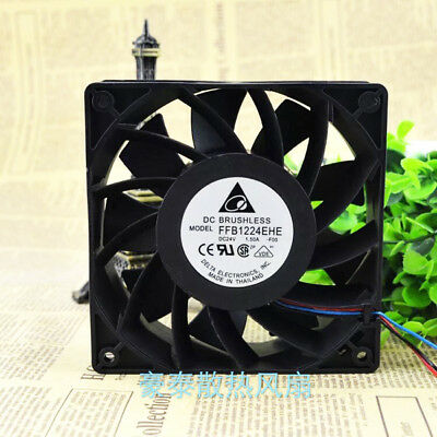Inverter fan for Delta FFB1224EHE-ROO fan 24V 1.50A 120*120*38mm 3pin