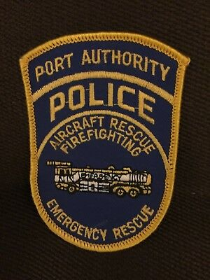 Police Patch New York Port Authority Aircraft Rescue Firefighting Emergency Resc