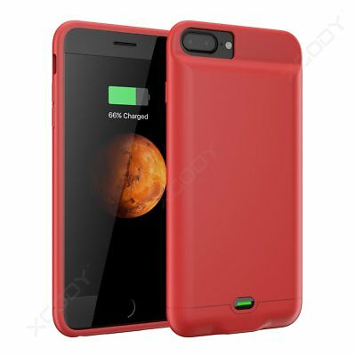 5000mAh Super Soft Thin Power Bank Battery Case Charger Cover for iPhone 6 7Plus