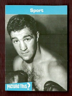 Usa - Boxing - Rocky Marciano - Uk Issue Game Card - 2006