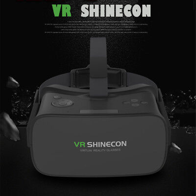 3D Glasses VR SHINECON All-in-one VirtualReality Movie Headset for Android Phone