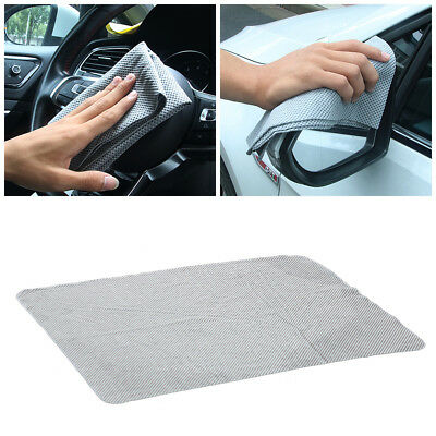 1*Embossed Synthetic Deerskin Car Window Car body Washing Cloth Duster Towel PVA