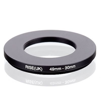 RISE(UK) 49-30mm  49-30  Matel Camera Stepping-down Filter Ring  Adapter