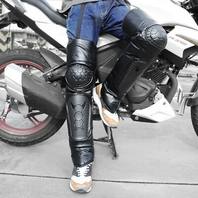 2x Adult Knee Guards Motocross Motorcycle Off-Road Body Guard Armor Pads