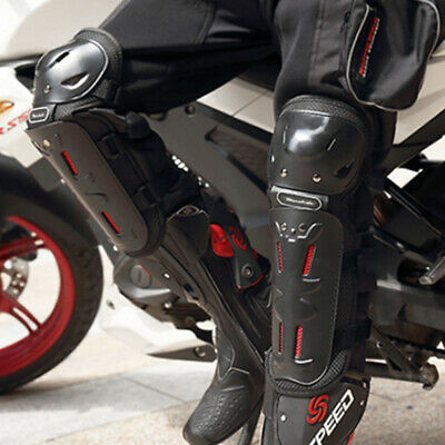 4x Adult Elbow Knee Shin Guard Motocross Motorcycle Off-Road Body Guard Pads