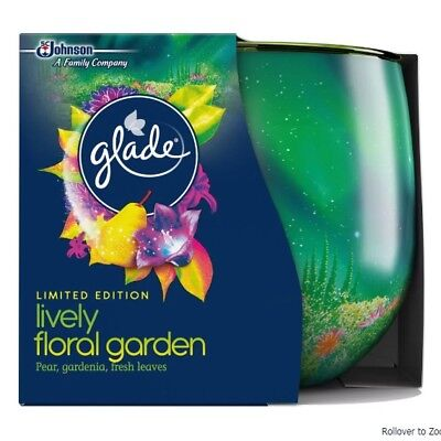 3x Glade Candle Flowering Desert Night  Limited Edition 120g Home Decor