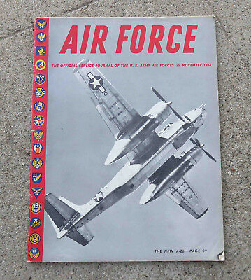 WW2 Nov 1944 Air Force Magazine Official Service Journal of  US Army Air Force