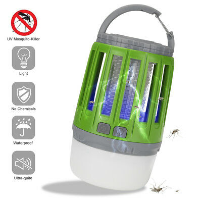 Multifunction 2 in 1 LED Electronic Mosquito Killer Lamp Night Light Hand Torch