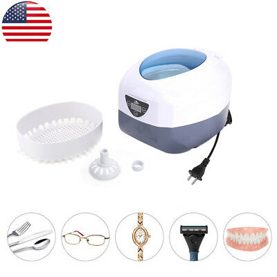 Ultrasonic Cleaner Gold Silver Jewelry Necklaces CD Keys Rings Cleaning Machine