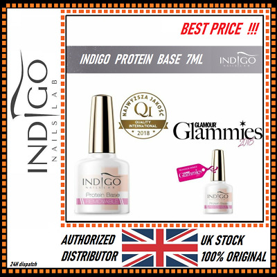 INDIGO REMOVABLE PROTEIN BASE 7ml  OFFICIAL UK DISTRIBUTOR  FAST !!  1st CLASS