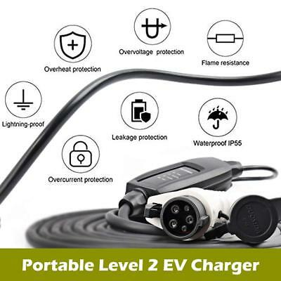 Electric Vehicle Charger EV Car Charging Cable Cord 16A J1772 EU PLUG