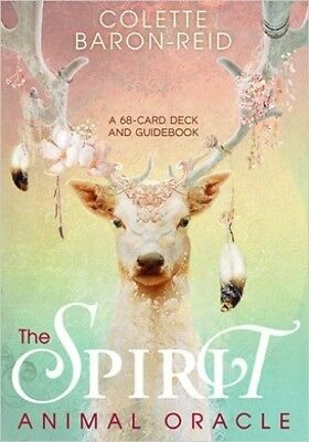 The Spirit Animal Oracle Cards by Colette Baron-Reid (NEW & Sealed)