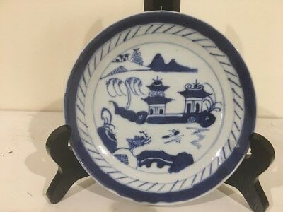 """Antique 18TH &19TH Century Canton Chinese 6 """" Plate"""