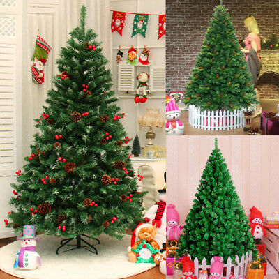 Prolific Christmas Tree 3-8ft Medium Small Large Artificial Pine Trees Frosted