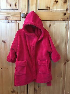 Baby's Red Dressing Gown 6-12 months