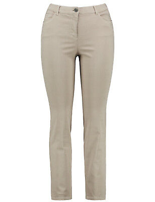 e96aa4a32871f4 Samoon Stretch Hose by Gerry Weber Stretchhose Betty beige Neu Damen Gr.52
