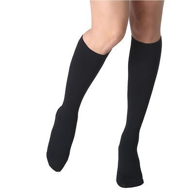 23-32 mmHg Travel Flight Medical Compression Socks Support Stockings Knee High