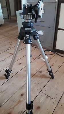Manfrotto Heavy Duty Tripod #055C with #168 head & bag