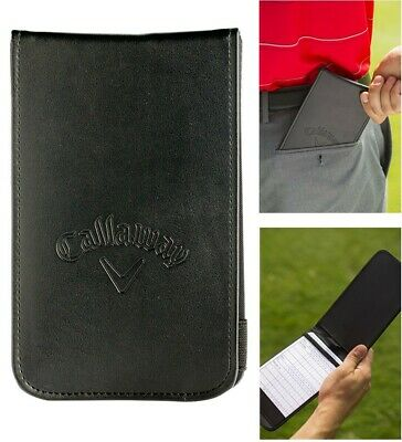 Callaway Golf Scorecard Holder | Synthetic Leather, As seen on the Tour