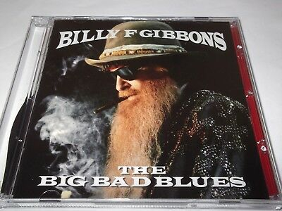 Billy F Gibbons.the Big Bad Blues. 2018. Cd. Zz Top