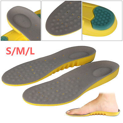 Sports & Running Insoles Orthotic Memory Foam Arch Supports Shock-Absorption
