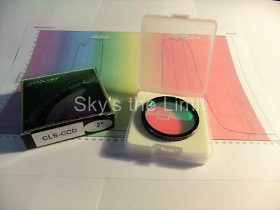 """SPECIAL - Optolong 2"""" CLS-CCD Premium High Transmission filter with data - 1"""