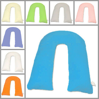 12Ft U Pillow Body/Bolster Support Maternity Pregnancy Support Pillow/Case Only