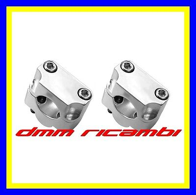 Riser attacco modifica manubrio da 22 a 28 mm Moto Cross Enduro Motard Naked
