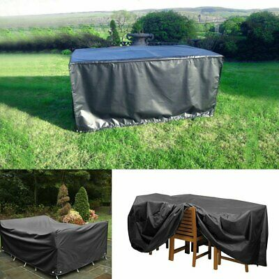 Huge Large 270CM 8-Seater Furniture Table Cover Protection Garden Patio Outdoor