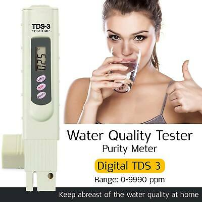 TDS Meter Water Quality Purity Digital Tester TEMP PPM Test Filter Pen Stick