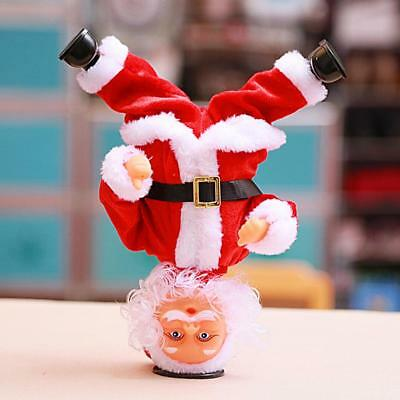 Christmas Santa Claus Doll Electric Music Dancing Toy Gift XMAS Home Decoration