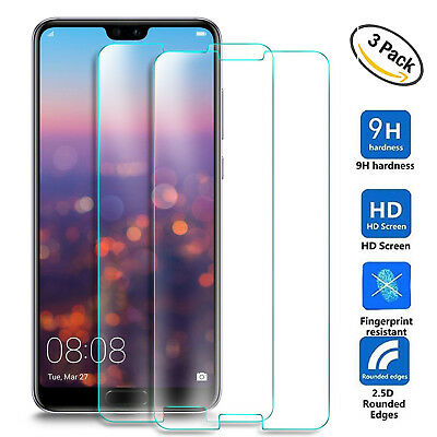 3Pack 9H Tempered Glass Film Screen Protector for Huawei Nova 3i/Note 10/8X Max