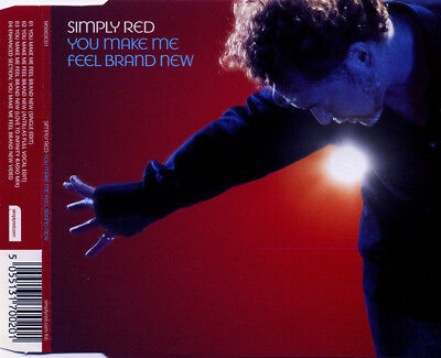 Simply Red You Make Me Feel Brand New Cd1 3 Track Cd Single & Video