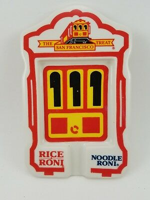 RICE-A-RONI NOODLE RONI SAN FRANCISCO TREAT Plate Spoon Rest Holder Made in USA