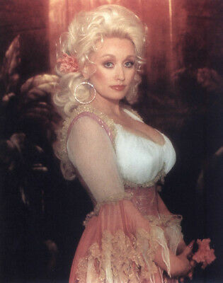 DOLLY PARTON 70s busty Foto Poster 20 x 30 cm (8 x 12 in) glanz
