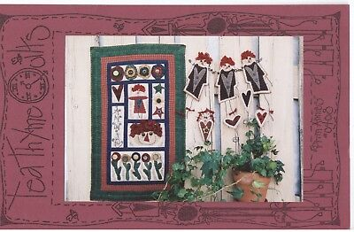 PRIM ANNIES by Melissa Olson patchwork quilt sewing pattern - english