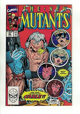 The New Mutants #87 | 1st Appearance of Cable | Deadpool 2 Movie | Marvel 1990 !