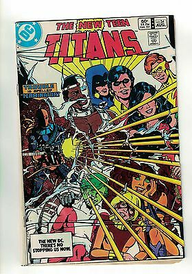 The New Teen Titans Vol. 1 -#34 | 1st Appearance Adeline Kane | DC Comics 1983
