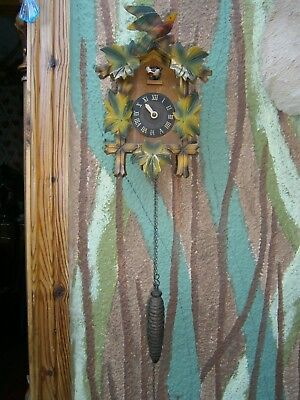 cuckoo clock ,wood,parts or repair.
