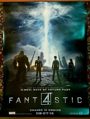 FANTASTIC FOUR Movie Poster 27x40 DS Authentic Teaser Version