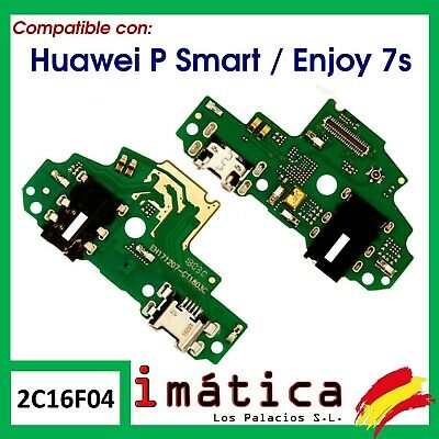 Placa Carga Huawei Ascend P Smart Enjoy 7S Usb Conector Jack Audio Microfono