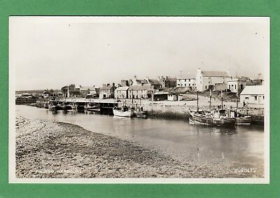 Thurso Harbour Trawlers Fishing Boats RP pc unused Valentines Ref L287