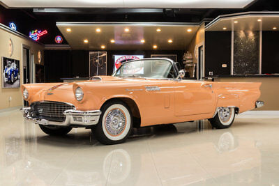 Ford Thunderbird Convertible Frame Off, Rotisserie Resto! # Match, Ford 312 V8, Automatic, PS, Original Color