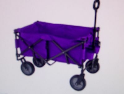 yard cart wagon, grocery,PURPLE